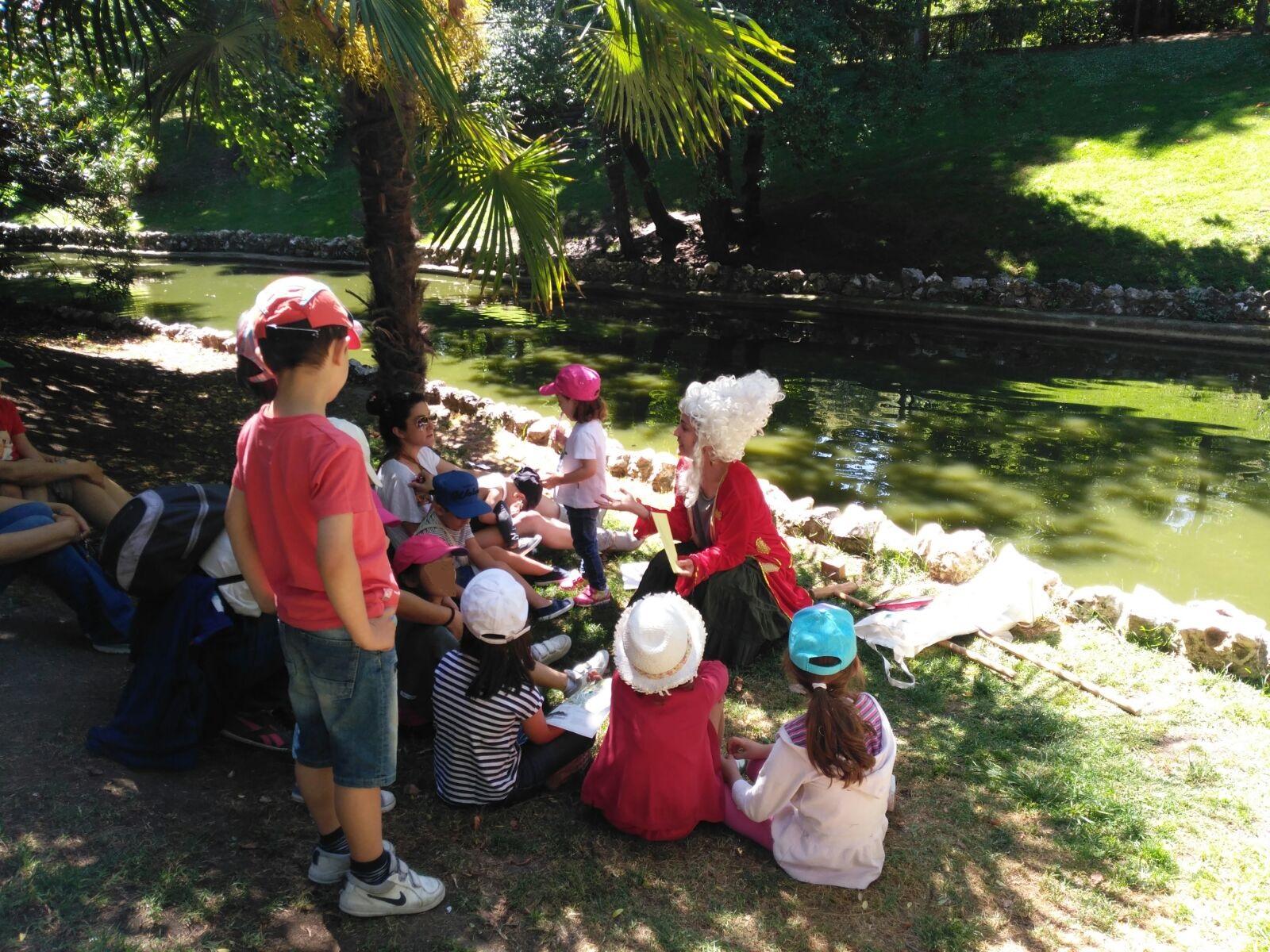Fin De Semana En Los Parques Madrile Os Con El Programa