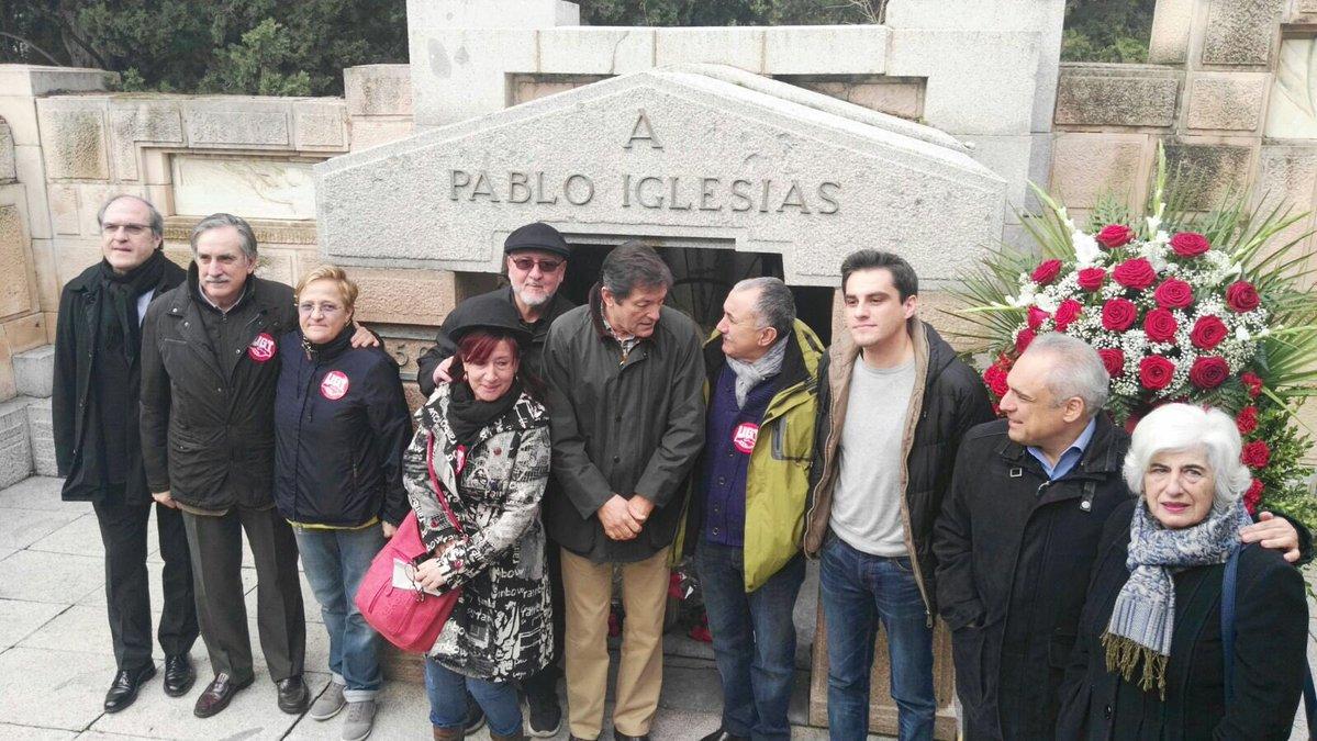 psoe homenaje pablo iglesias