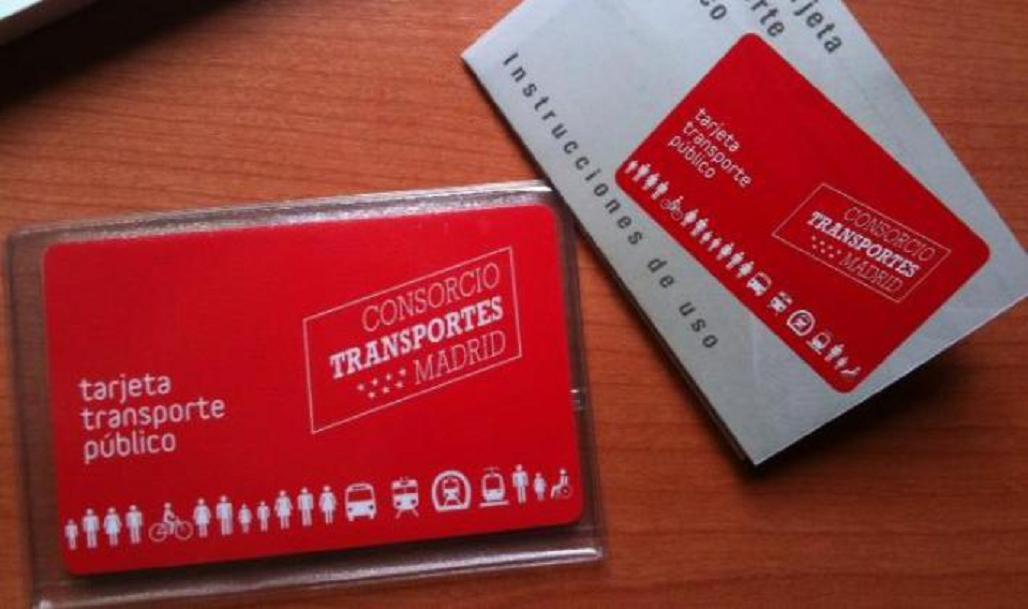 tarjeta transportes madrid ventex20