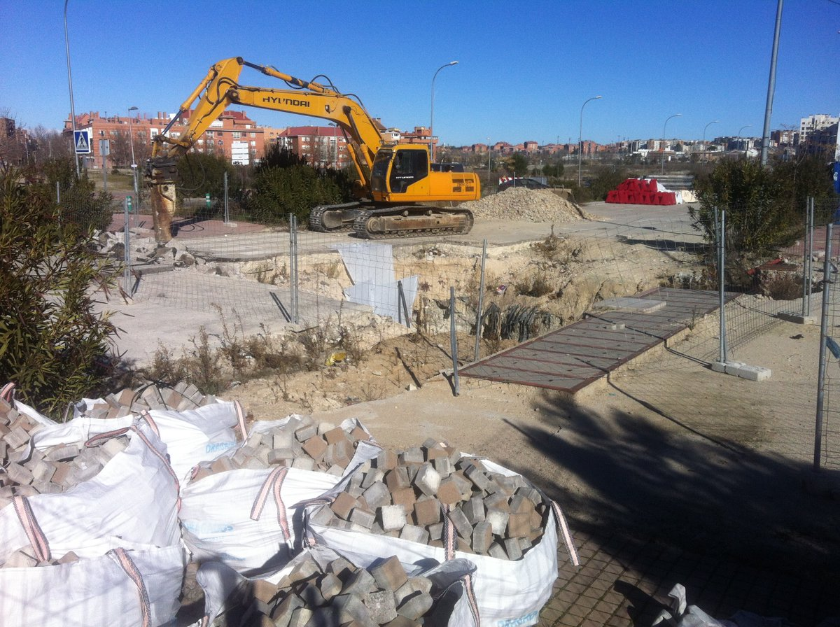 Arrancan las obras de reparaci n y consolidaci n del for Obra nueva ensanche de vallecas