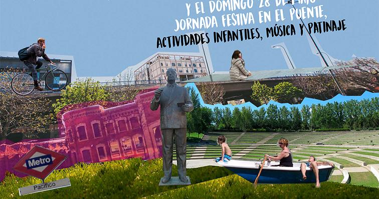 Arganzuela y retiro lanzan un proceso participativo para for Piscina municipal arganzuela