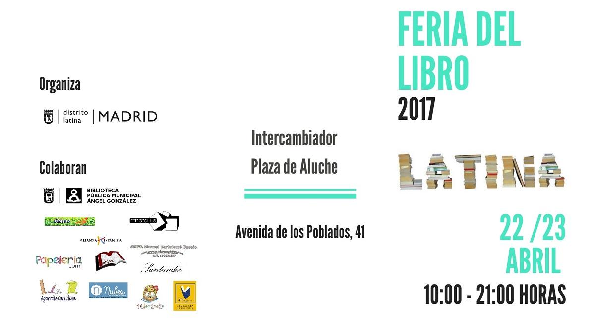 Aluche acoger dos d as de feria del libro de latina con for Feria del mueble madrid 2017