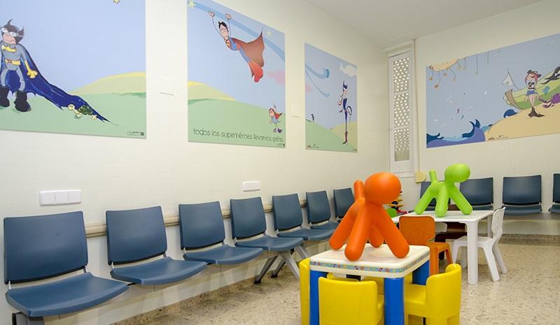 El hospital gregorio mara n estrena nueva decoraci n en oftalmolog a pedi trica gacet n madrid - Escuela decoracion madrid ...
