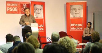 El precandidato Pepu Hernández se reunirá este viernes con la militancia de Villa de Vallecas