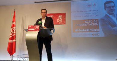El precandidato socialista Chema Dávila se reunirá este lunes con militantes en Tetuán