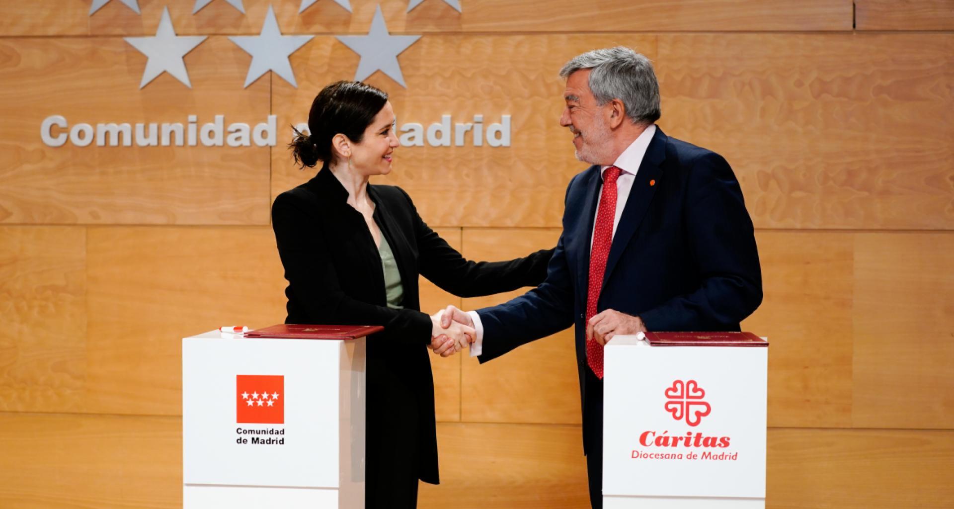 La Comunidad de Madrid pone a disposición de Cáritas 176 viviendas ...
