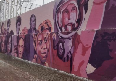 El polémico mural feminista de Ciudad Lineal será sustituido por otro «homenajeando al deporte paralímpico y la igualdad»