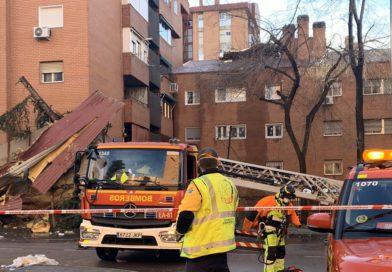 Los bomberos de Madrid han realizado más de 210 intervenciones este viernes por el viento
