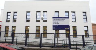 Finalizan las obras de ampliación del Centro de Servicios Sociales de Entrevías